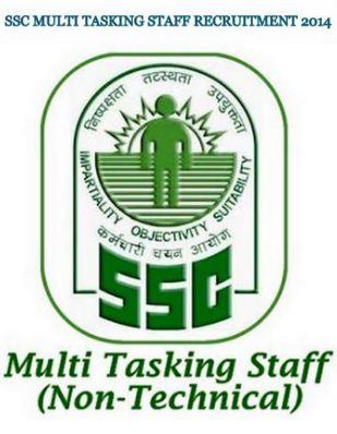 SSC Multi Tasking Staff Recruitment 2014 Exam - Apply Online