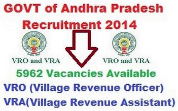 AP Recruitment 2014 Vacancy Details