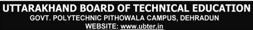 Uttarakhan Board of Technical Education Dehradun Recruitment 2013-14