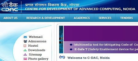 CDAC Noida Recruitment 2014 Apply Online www.cdacnoida.in