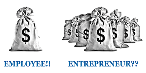 Entrepreneurship vs Employee