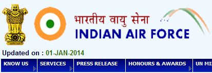 Indian Air Force Recruitment 2014 for Group 'C' posts Apply Online