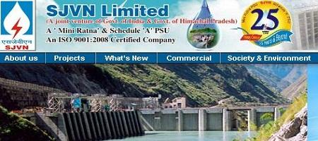 SJVN Limited Recruitment 2014 www.sjvn.nic.in Employment News