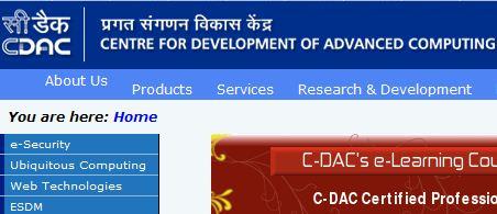 CDAC Hyderabad Recruitment 2014 Apply Online www.cdachyd.in