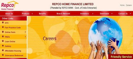 Repco Home Finance Ltd Recruitment 2014 Apply Online
