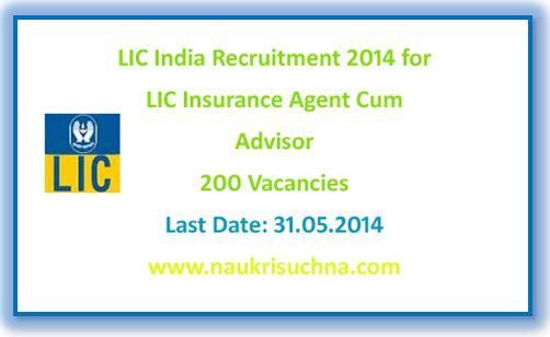 Insurance Advisor Lic Recruitment