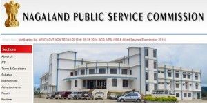 NPSC Recruitment 2014 in NCS, NPS and Allied Service Examination