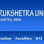 Kurukshetra University Recruitment 2014 Walk In Interview Jobs