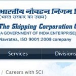 Shipping Corporation of India Recruitment 2014 Walk in Interview
