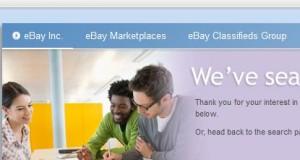 EBay Recruitment 2014 for Freshers Apply for Software Engineer