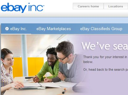 EBay Recruitment 2014 for Freshers Apply for Software Engineer