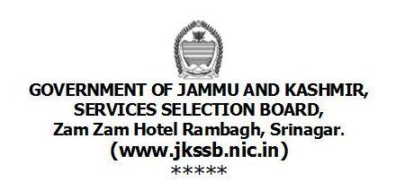 JKSSB Recruitment 2014 Apply Online for 838 Vacancies
